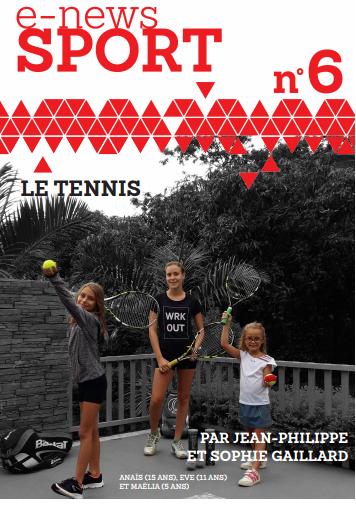 Le tennis chez les enfants aloe vera clermont